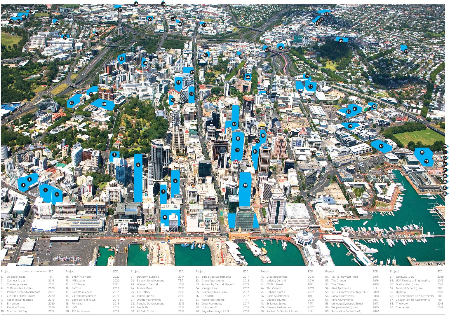 Concealed beneath Auckland CBD - 50 years of T+T data ...